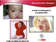 Reconstructive Surgery for Children