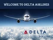 Delta Airlines Reservations & Flight Booking