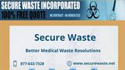 Secure Waste — Better medical waste resolutions