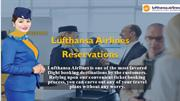 Get discounted tickets on Lufthansa Airlines Reservation