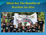 What Are The Benefits of Brazilian Jiu-Jitsu