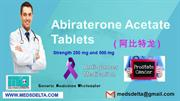 Abiraterone Tablets Price in India | Buy Zytiga 250mg Tablets