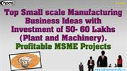 Top Small scale Manufacturing Business Ideas