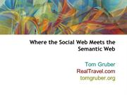 social web meets semantic web