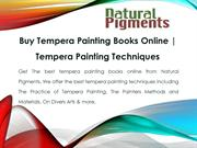 Buy Tempera Painting Techniques | Tempera Painting Books Online