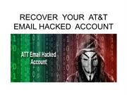 RECOVER YOUR AT&T EMAIL HACKED ACCOUNT