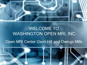 Open MRI Center Oxon Hill and Owings Mills