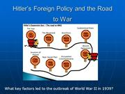 Lecture Lesson_WW2 The Road to War