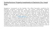 Godrej Nurture- Property investments in Electronic City- Invest
