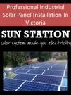 Professional Industrial Solar Panel Installation In Victoria