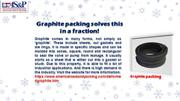 Graphite packing solves this in a fraction!