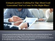 Liongate partners Looking For Tips About Lead Generation You've Come T