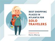 Best Shopping Places in Atlanta For Solo Travelers