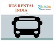 Bus Rental Company in Delhi, Bus Hire in Delhi - Bus Rental India