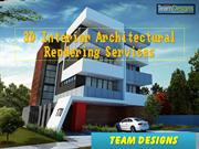 3D Interior Architectural Rendering Services - Team Designs Canada