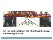 Appoint plumbers Richmond VA for the best solutions for HVAC