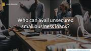 Quick business loans | Loansparadise