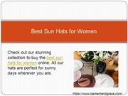 Best Sun Hats for Women