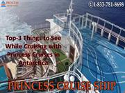Top-3 Things to See While Cruising with Princess Cruises in Antarctica