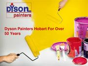 Over 50 years of experience in painting of Dyson Painters