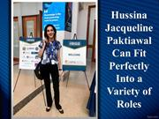 Hussina Jacqueline Paktiawal Can Fit Perfectly Into a Variety of Roles