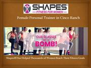 Female Personal Trainer in Cinco Ranch