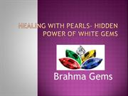 Healing With Pearls- Hidden Power Of White Gems