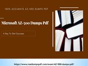 Microsoft AZ-500 Dumps pdf - Unique And Genuine AZ-500 Exam Dumps