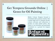Get Gesso for Oil Painting | Shop Tempera Grounds Online