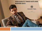Made to Measure Tweed Suits