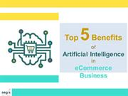 Growth of eCommerce with the help of Artificial intelligence