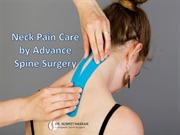Neck Pain Care by Advance Spine Surgery