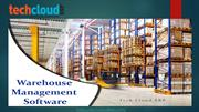 Warehouse Management Software India | Tech Cloud ERP