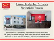 Econo Lodge Inn & Suites Springfield, OR