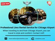 Professional Limo Rental Service for Chicago Airport