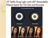 Best Selfie Ring Light for Tik Tok Videos with Stand