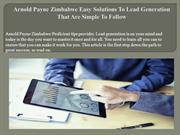 Arnold Payne Zimbabwe Easy Solutions To Lead Generation That Are Simpl