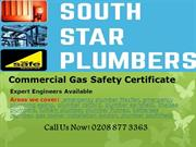 Commercial Gas Safety Certificate-Southstar Plumbers