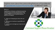 Explore more about the astounding features of QuickBooks