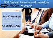 DOT General Awareness of Hazardous Materials-converted