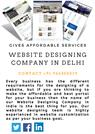 Website Designing Company in Delhi Gives Affordable Services