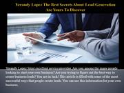 Yerandy Lopez The Best Secrets About Lead Generation Are Yours To Disc
