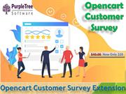 Opencart Store Survey extension by Purpletree