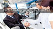 Car Hire Dubai - Car Lease Dubai - Rent A Car
