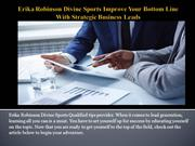 Erika Robinson Divine Sports Improve Your Bottom Line With Strategic B