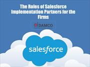 The Roles of Salesforce Implementation Partners for the Firms