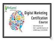 #2019 Digital Marketing Courses ,Online Digital Marketing Certificatio
