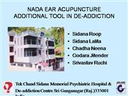 NADA Ear Acupuncture: Dr. Roop Sidana