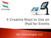 4 Creative Ways to Use an iPad for Events