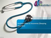 Buy Ambien online Used to Insomnia (Sleeping Disorder)